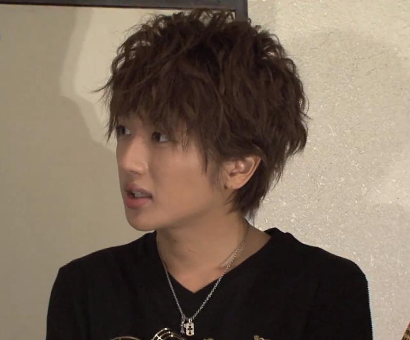 AAAにっしーの髪型【パーマ】